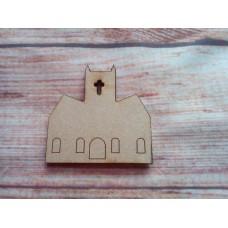 Church D1 Laser Cut